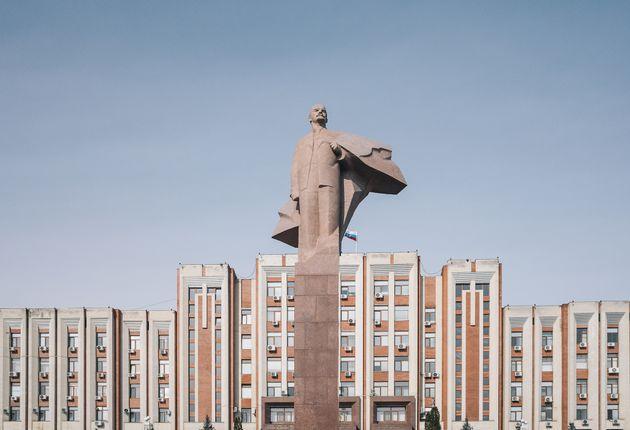Το άγαλμα του Λένιν στο