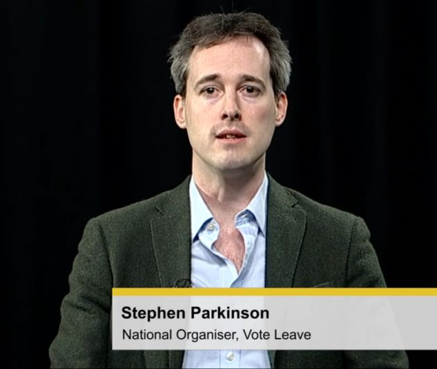 Stephen Parkinson is now political secretary to Theresa