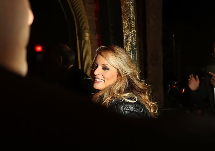 "Stephanie Clifford, who goes by the stage name Stormy Daniels, was self-assured, quick-witted and forthright on ""60 Minutes"""