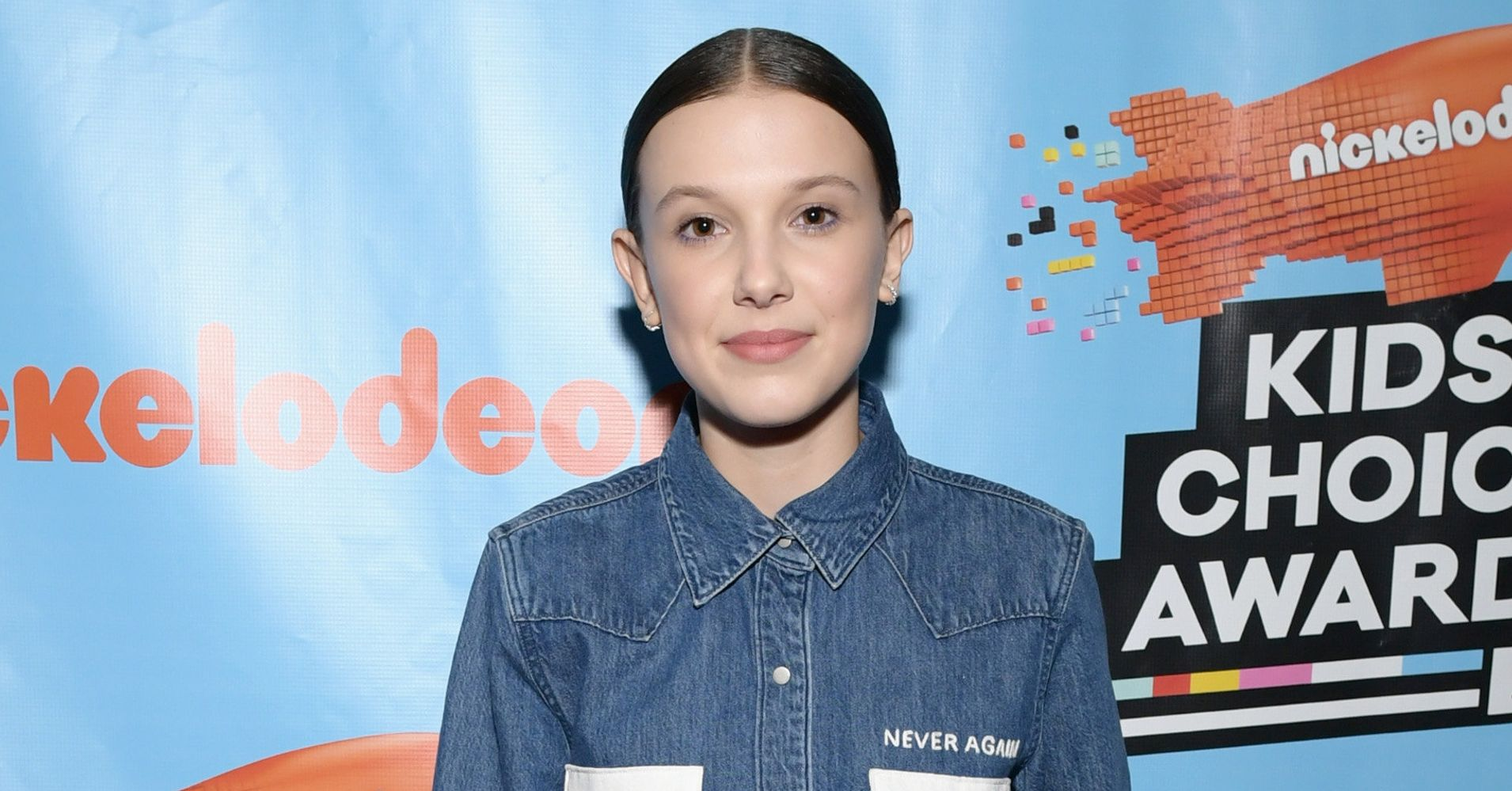 4d84456cf52f29 Millie Bobby Brown Honors Parkland Victims