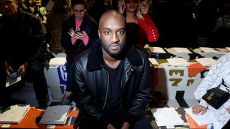 PARIS, FRANCE - FEBRUARY 27:  Virgil Abloh attends the Christian Dior show as part of the Paris Fashion Week Womenswear Fall/Winter 2018/2019 on February 27, 2018 in Paris, France.  (Photo by Victor Boyko/Getty Images for Christian Dior)