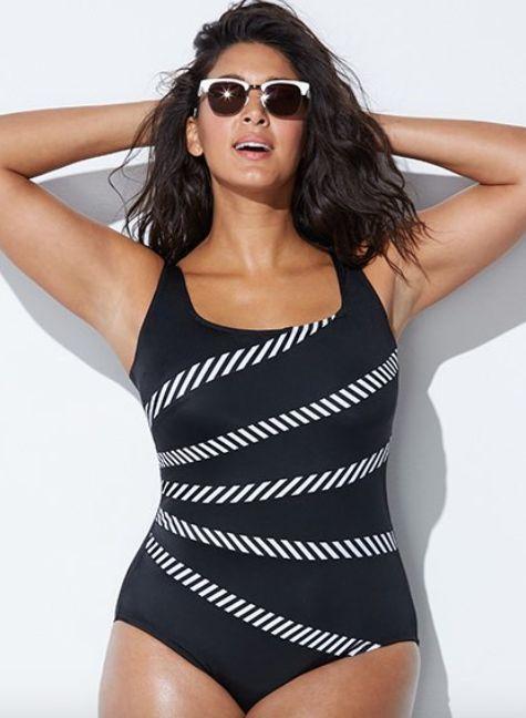 "Get it at <a href=""https://www.swimsuitsforall.com/Longitude-Mod-Stripe-Banded-Fan-Tank#rrec=true"" target=""_blank"">Swimsuits"