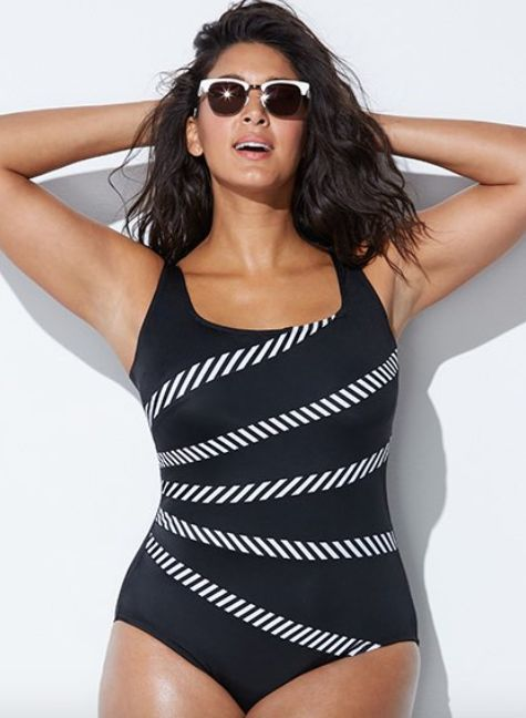 56cd7e9e6ca12 18 Flattering Swimsuits For Those With Long Torsos | HuffPost Australia