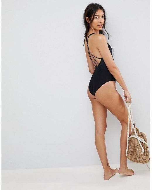 """Get it at <a href=""""http://us.asos.com/asos-tall/asos-tall-strappy-ring-back-swimsuit/prd/8676890?affid=21146&channelref=p"""