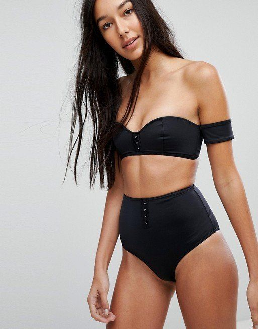 """Get it at <a href=""""http://us.asos.com/asos-tall/asos-tall-mix-and-match-high-waist-bikini-bottom-with-hook-and-eye/prd/862601"""