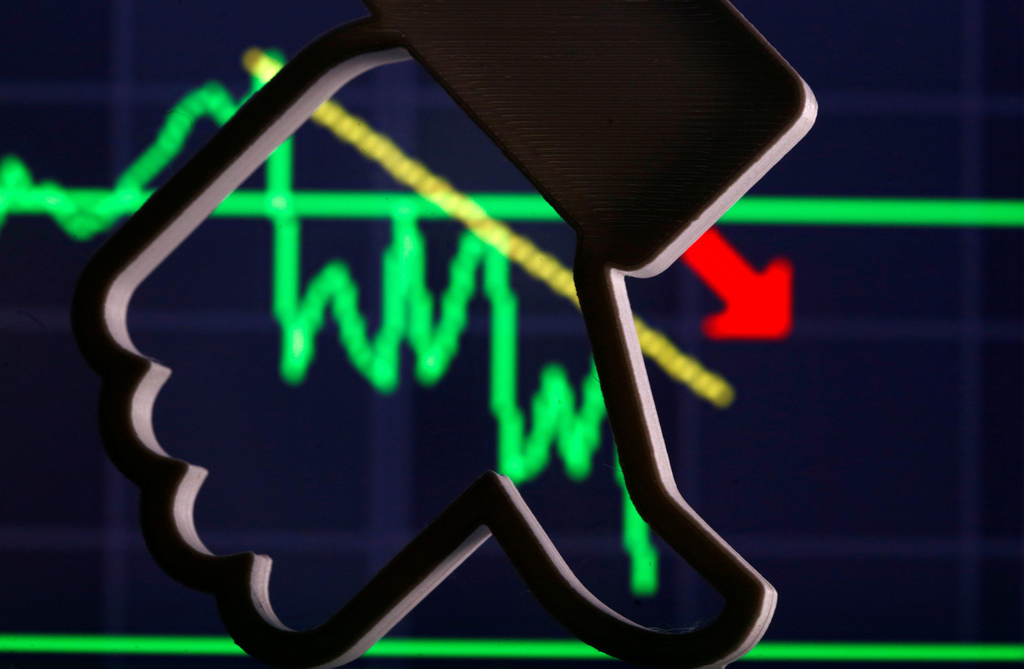 Le réseau socialcontinue sa chute à Wall