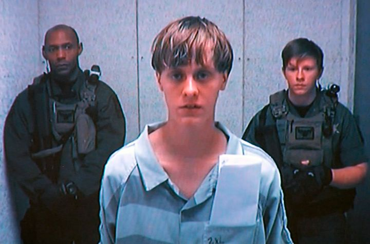 Dylann Roof at a bond hearing in Charleston, South Carolina, in 2015.