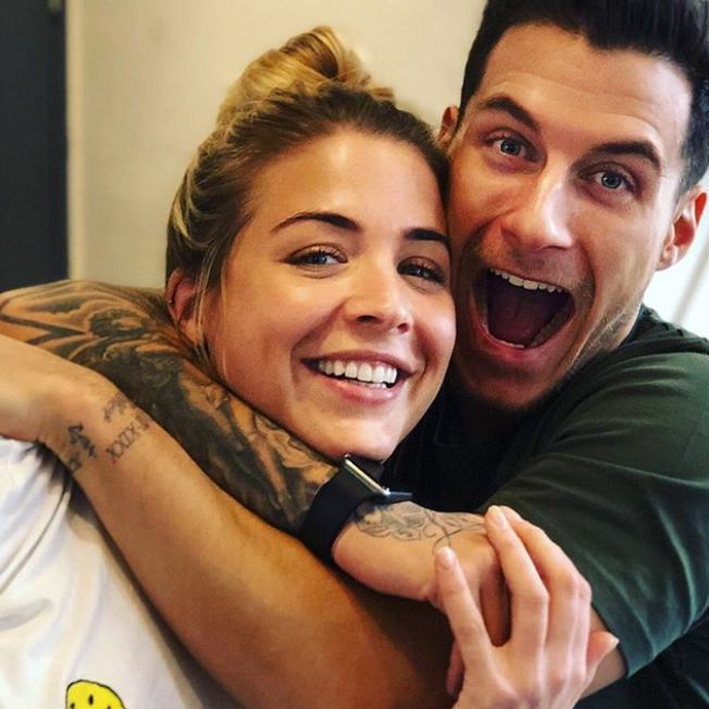 Gemma Atkinson Says Press Reports About Gorka Romance Made Things 'Awkward' Early