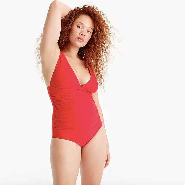 714c45144713b 18 Flattering Swimsuits For Those With Long Torsos