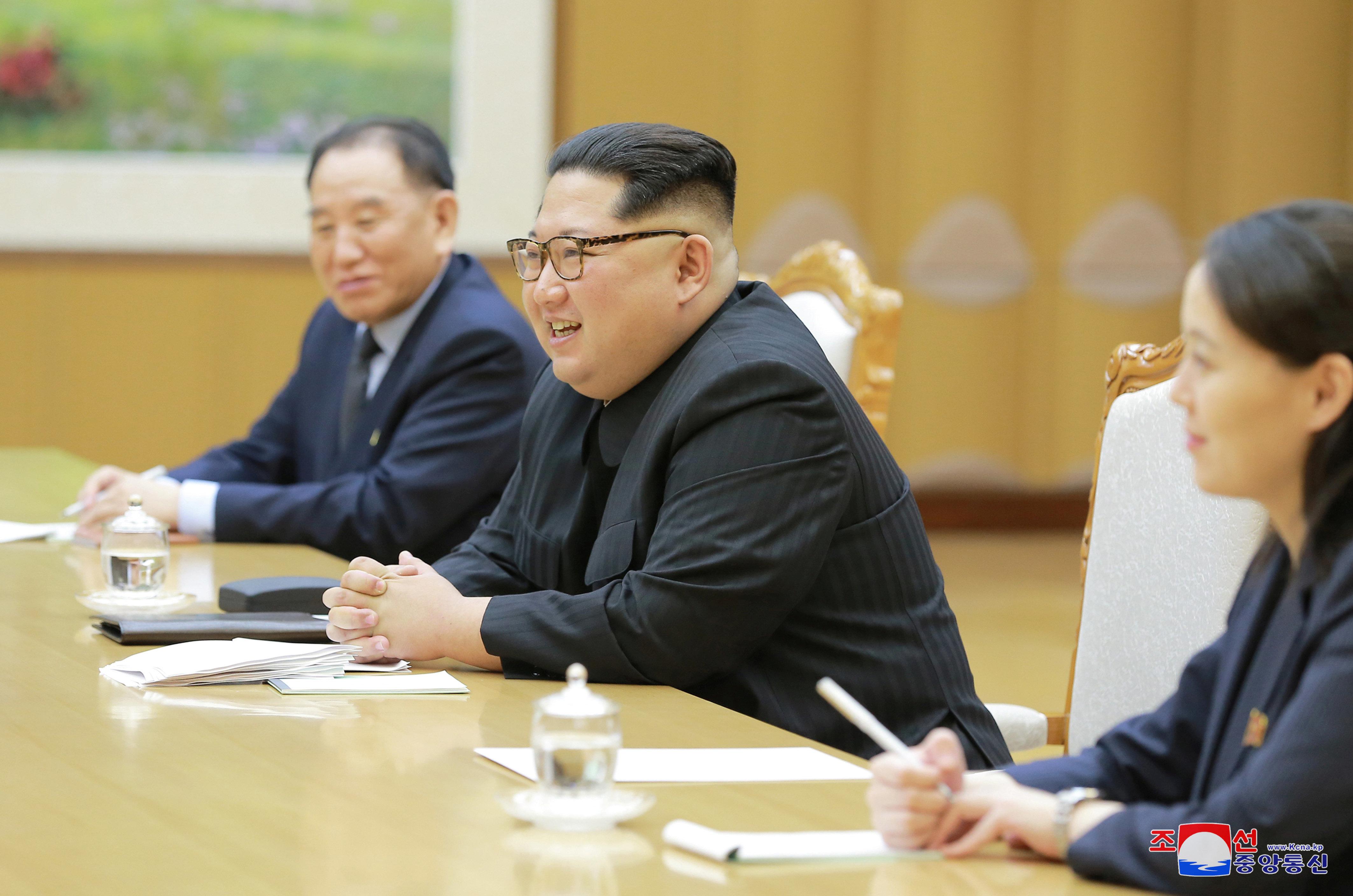 Kim Jong Un besuchte Chinas Präsidenten Xi