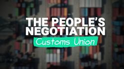 The People's Negotiation: Should The UK Leave The Customs Union After Brexit?