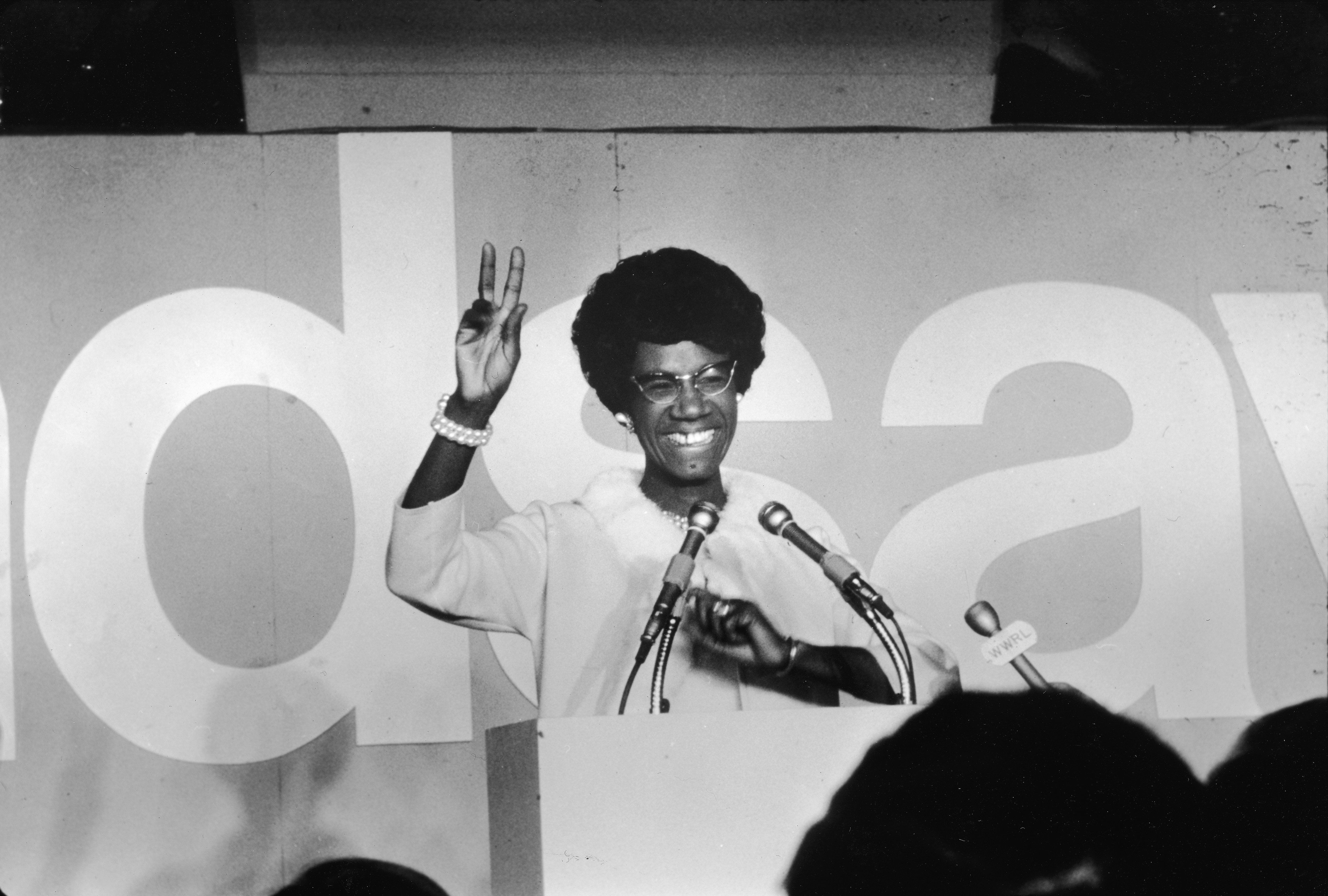 Shirley Chisholm, the first black woman elected to U.S. Congress and the first black person torun for...