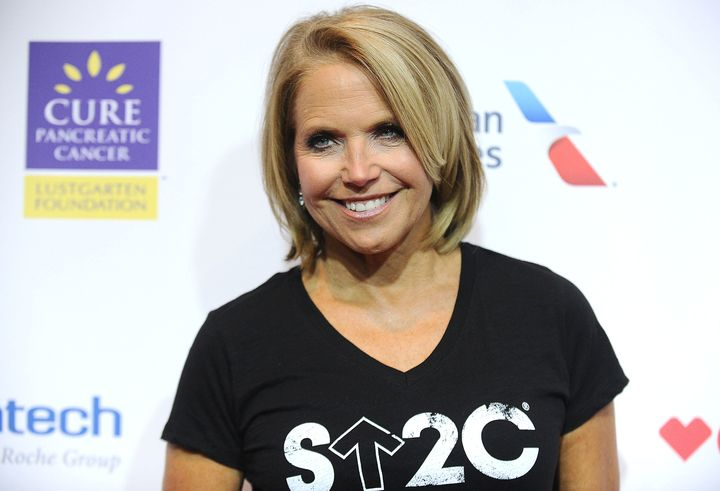 Katie Couric's husband, Jay Monahan, died of colorectal cancer when he was 42 years old.
