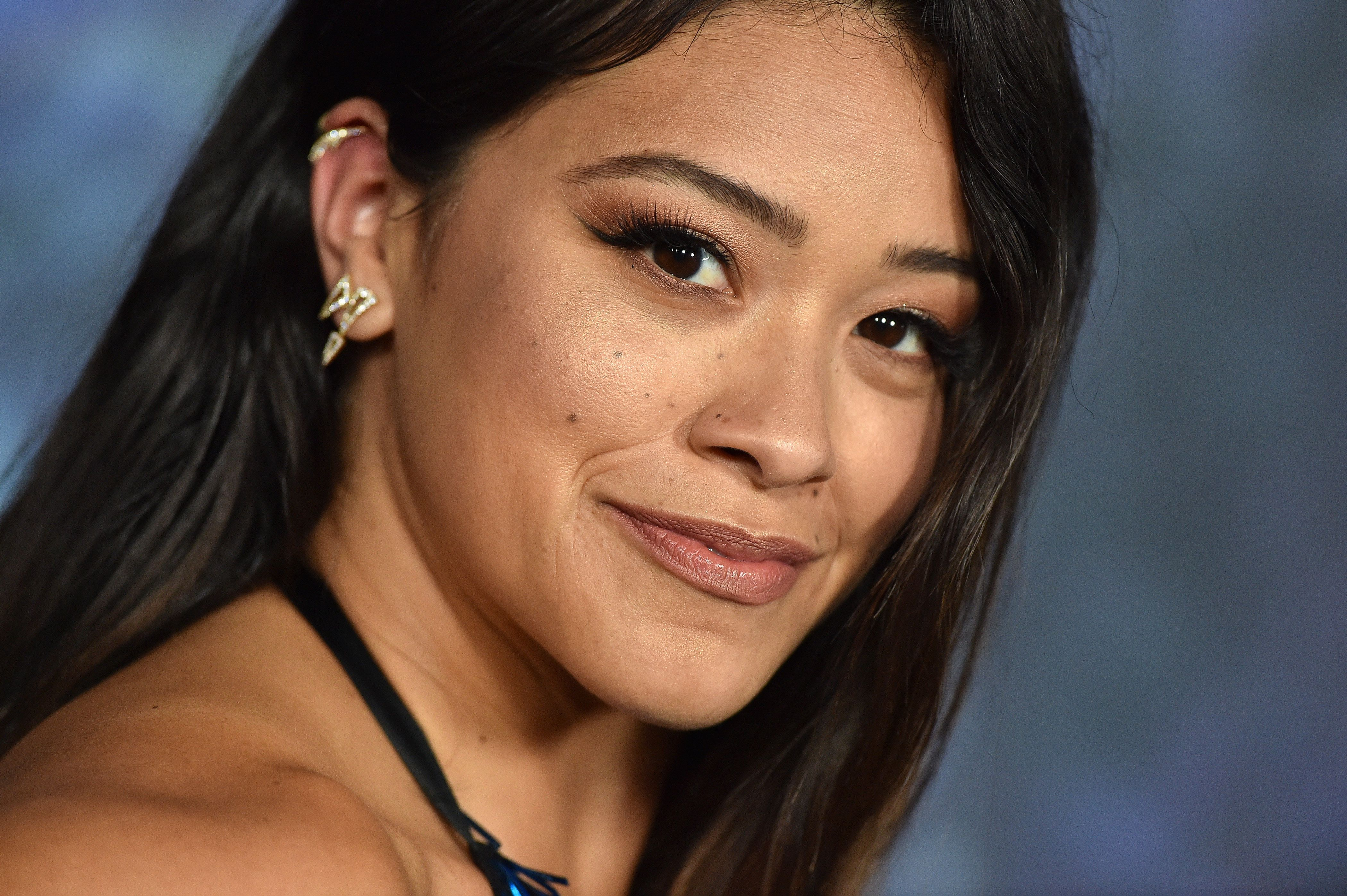 WESTWOOD, CA - FEBRUARY 13:  Actress Gina Rodriguez attends the Los Angeles premiere of 'Annihilation' at Regency Village Theatre on February 13, 2018 in Westwood, California.  (Photo by Axelle/Bauer-Griffin/FilmMagic)