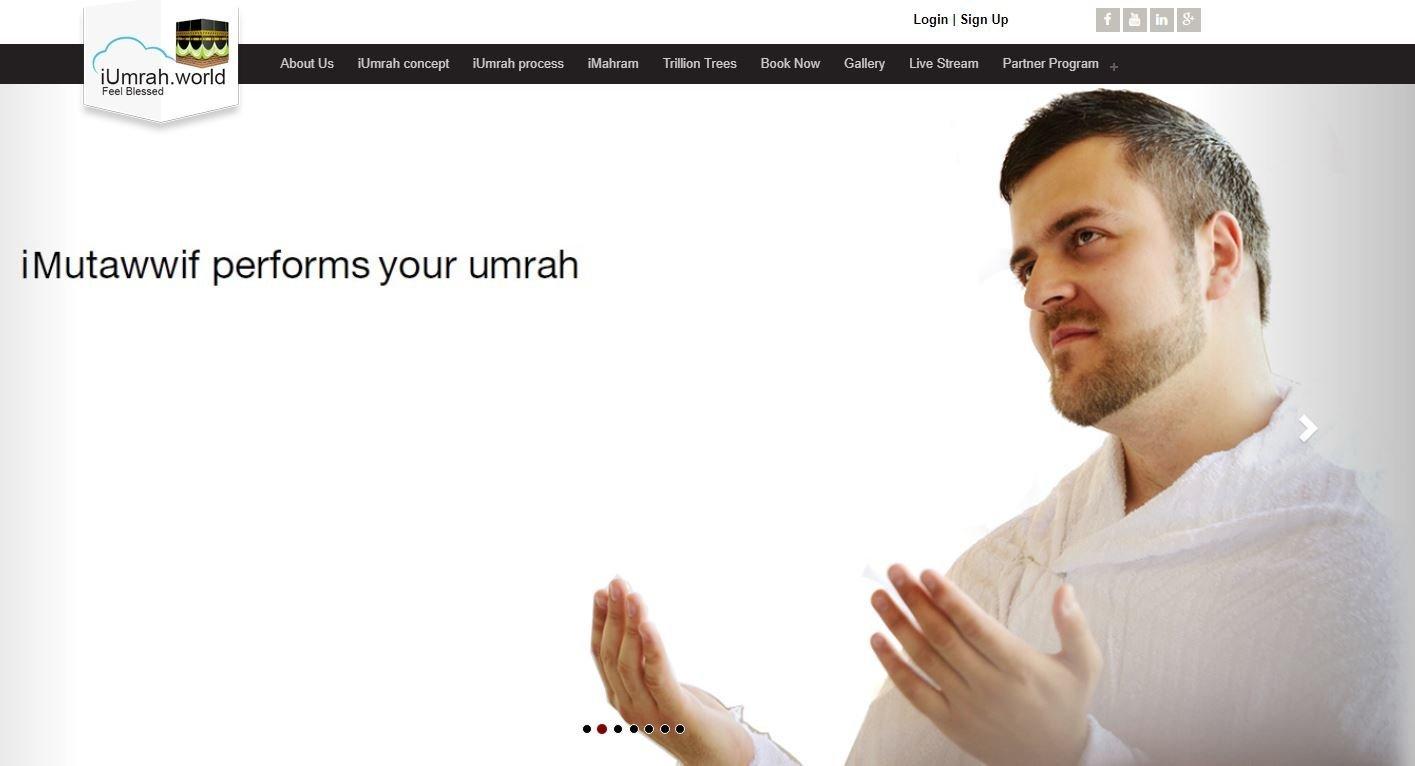 iUmrah, le site qui vous permet de faire un pèlerinage sans vous