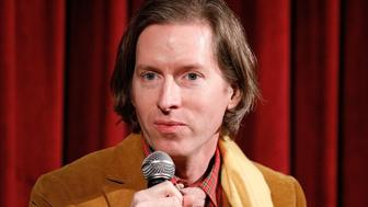 NEW YORK, NY - MARCH 22:  Producer, writer and director Wes Anderson on stage during The Academy of Motion Picture Arts & Sciences Official Academy Screening of Isle of Dogs at the MOMA - Celeste Bartos Theater on March 22, 2018 in New York City.  (Photo by Lars Niki/Getty Images for The Academy of Motion Picture Arts & Sciences)