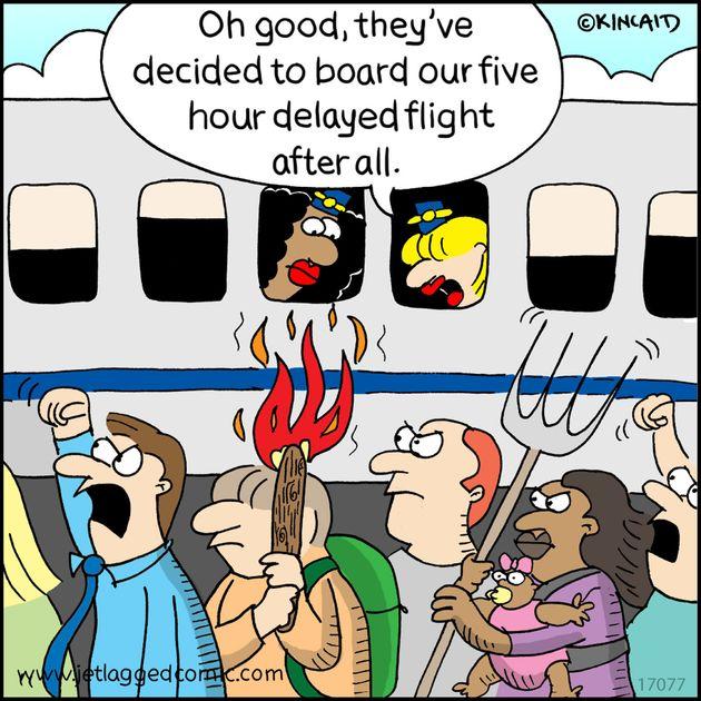 25 Hilarious Comics About Life As A Flight