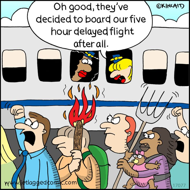 25 Hilarious Comics About Life As A Flight Attendant