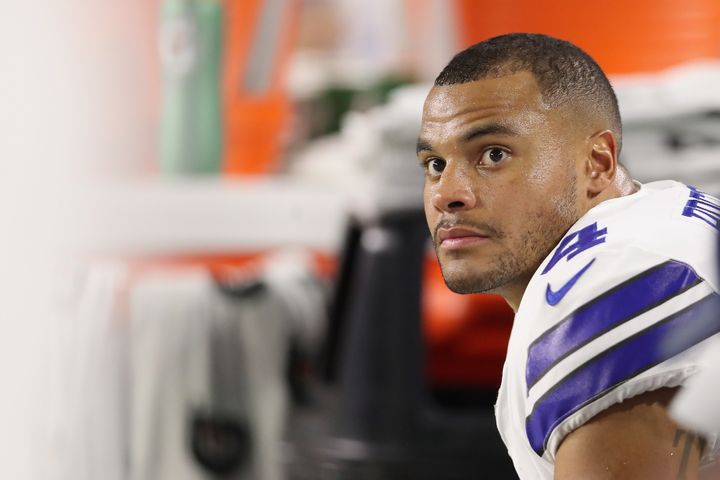 Dak Prescott lost his mom, Peggy, to colorectal cancer in November 2013.