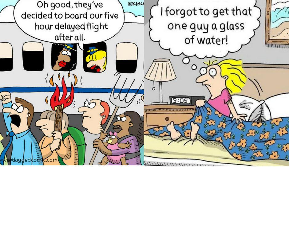 25 Hilarious Comics About Life As A Flight Attendant