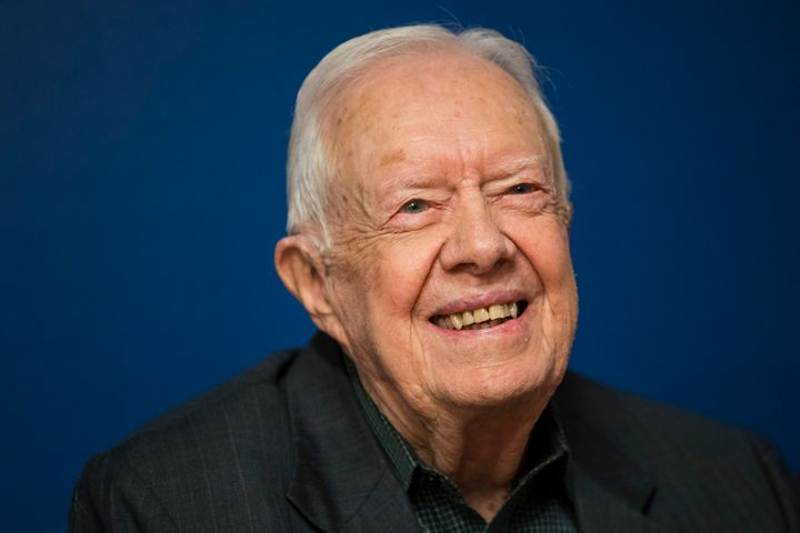 Former President Jimmy Carter has defended President Donald Trump in the past.