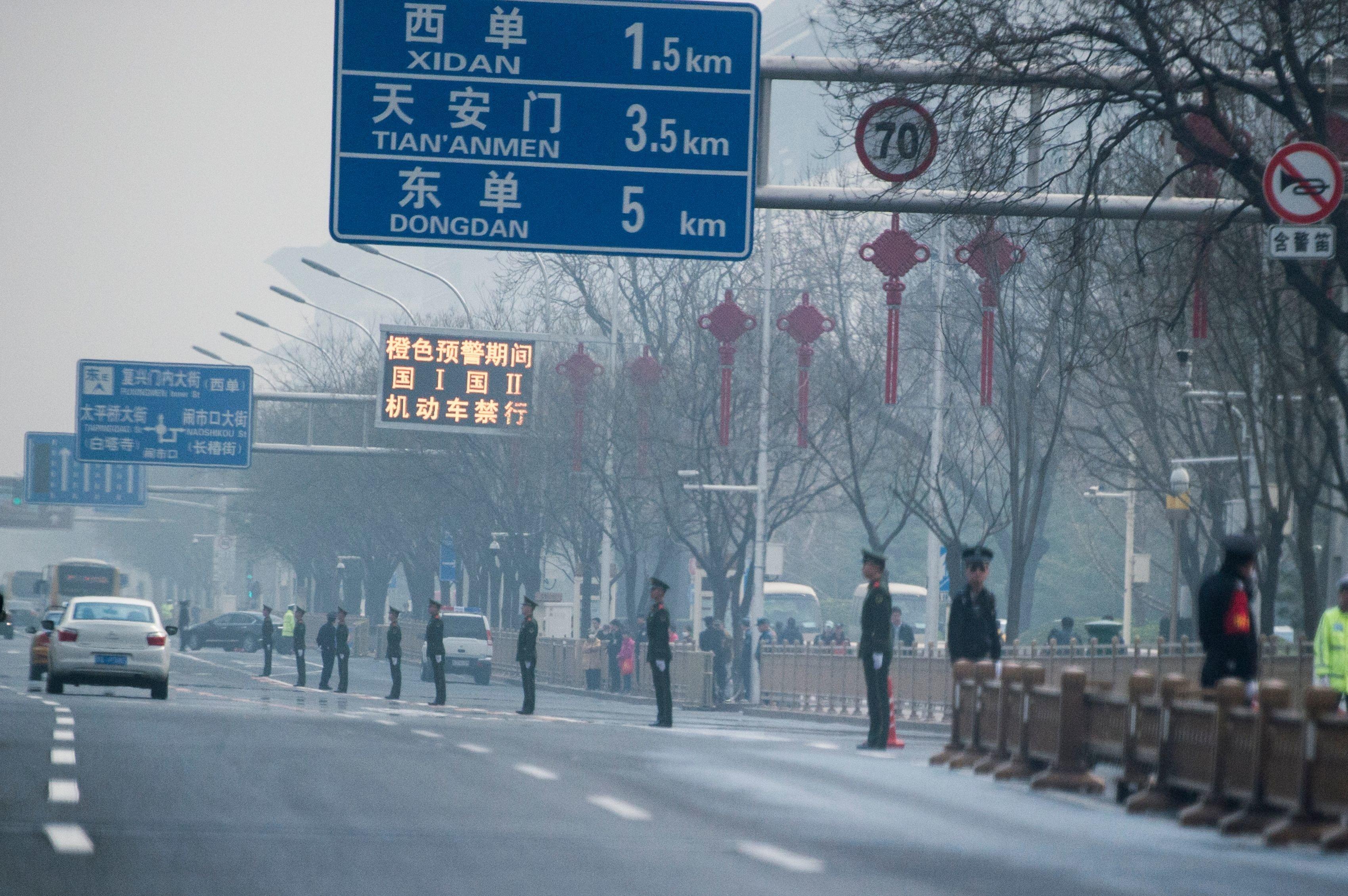 김정은이 중국에서 시진핑을 만난 것 같다