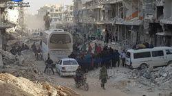 Syrie: Près de 7000 rebelles évacués de la Ghouta suite à un accord avec la