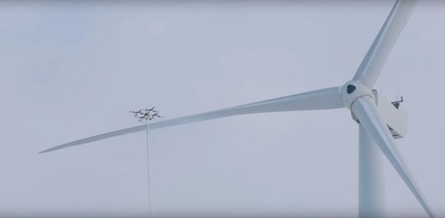 Giant Drone Can Do Everything From Rescue Humans To De-Icing Wind