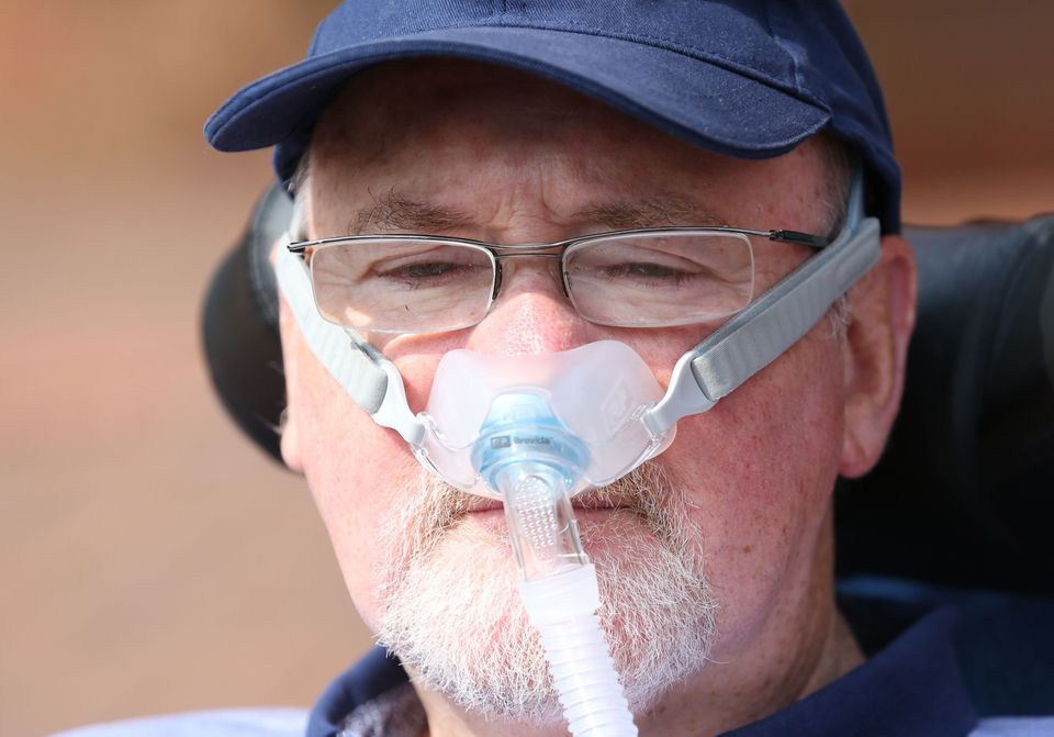 Terminally-ill Noel Conway is embroiled in a legal battle to have the option of an assisted