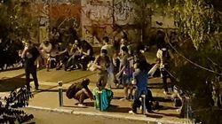 Ανθυγιεινή εστία το Green Park στο Πεδίον του Άρεως. Το Υγειονομικό καλεί Αστυνομία και Δήμο Αθηναίων να
