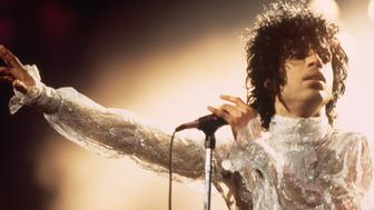 Prince in Concert (Photo by Bill Marino/Sygma via Getty Images)
