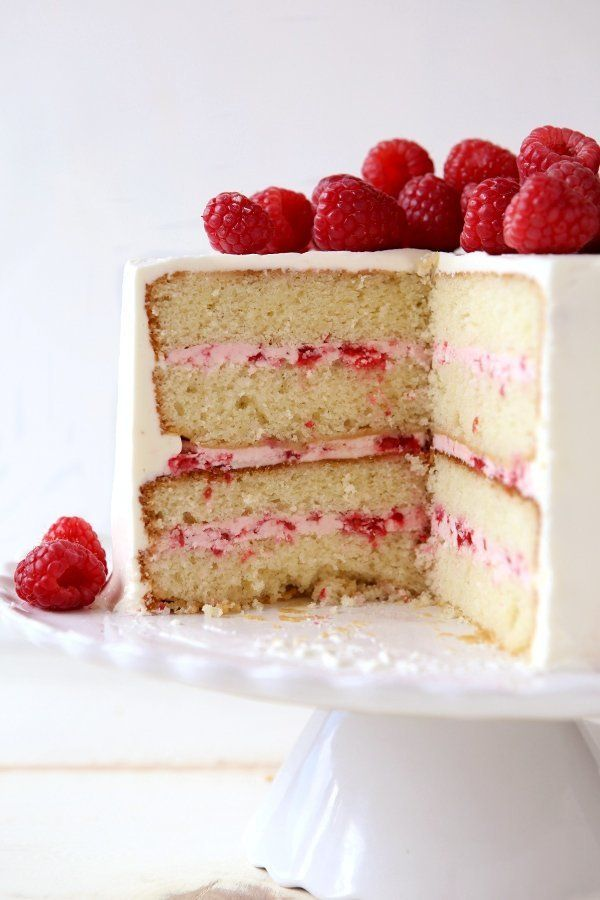 "<strong>Get the <a href=""https://www.completelydelicious.com/raspberry-white-chocolate-layer-cake/"" target=""_blank"">Raspberry"