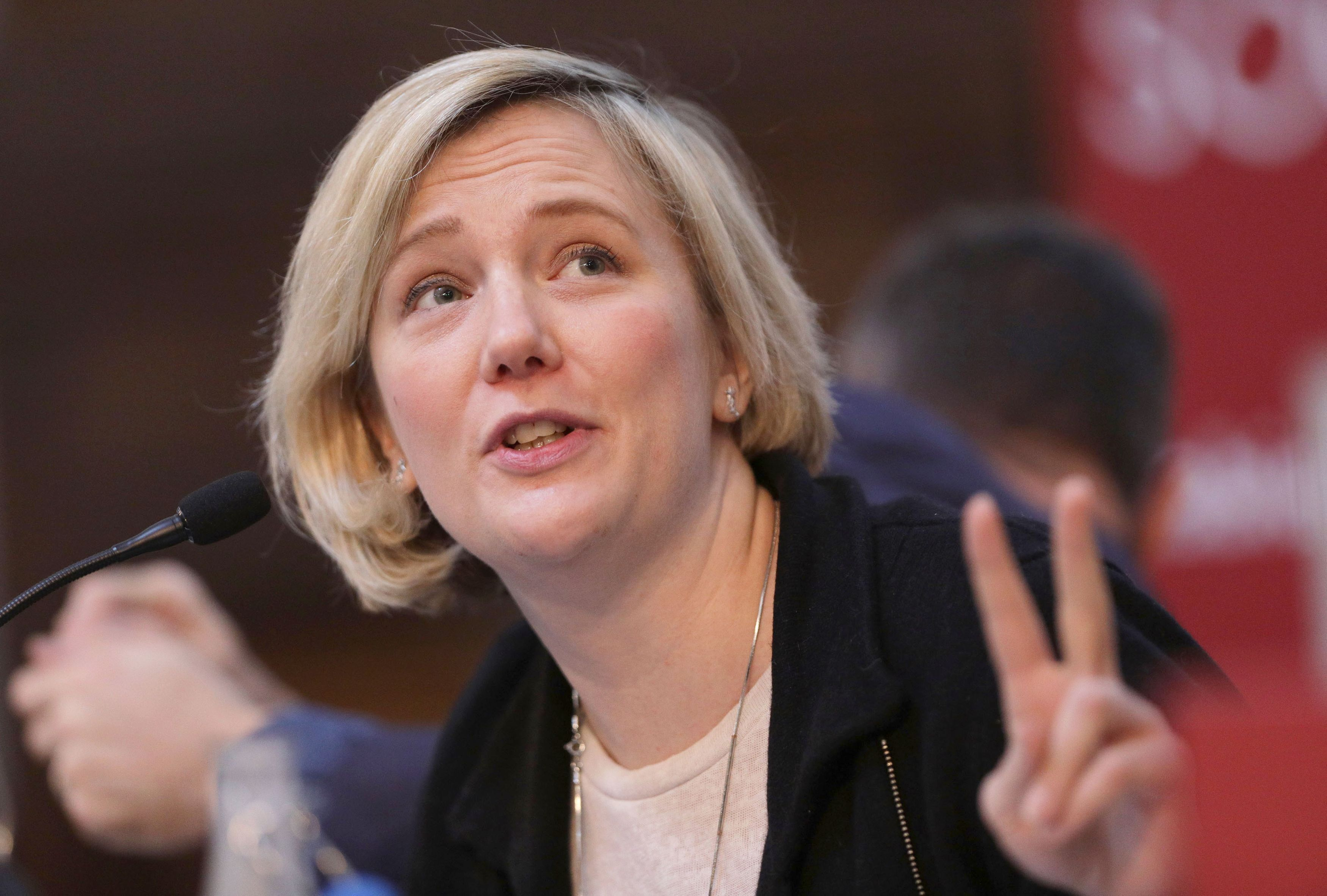 Labour MP Stella Creasy has hit out at an approach from pro-Corbyn blog Skwawkbox just hours after an antisemitism rally