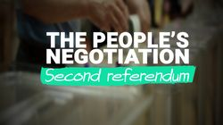 The People's Negotiation: Should There Be A Second Referendum?