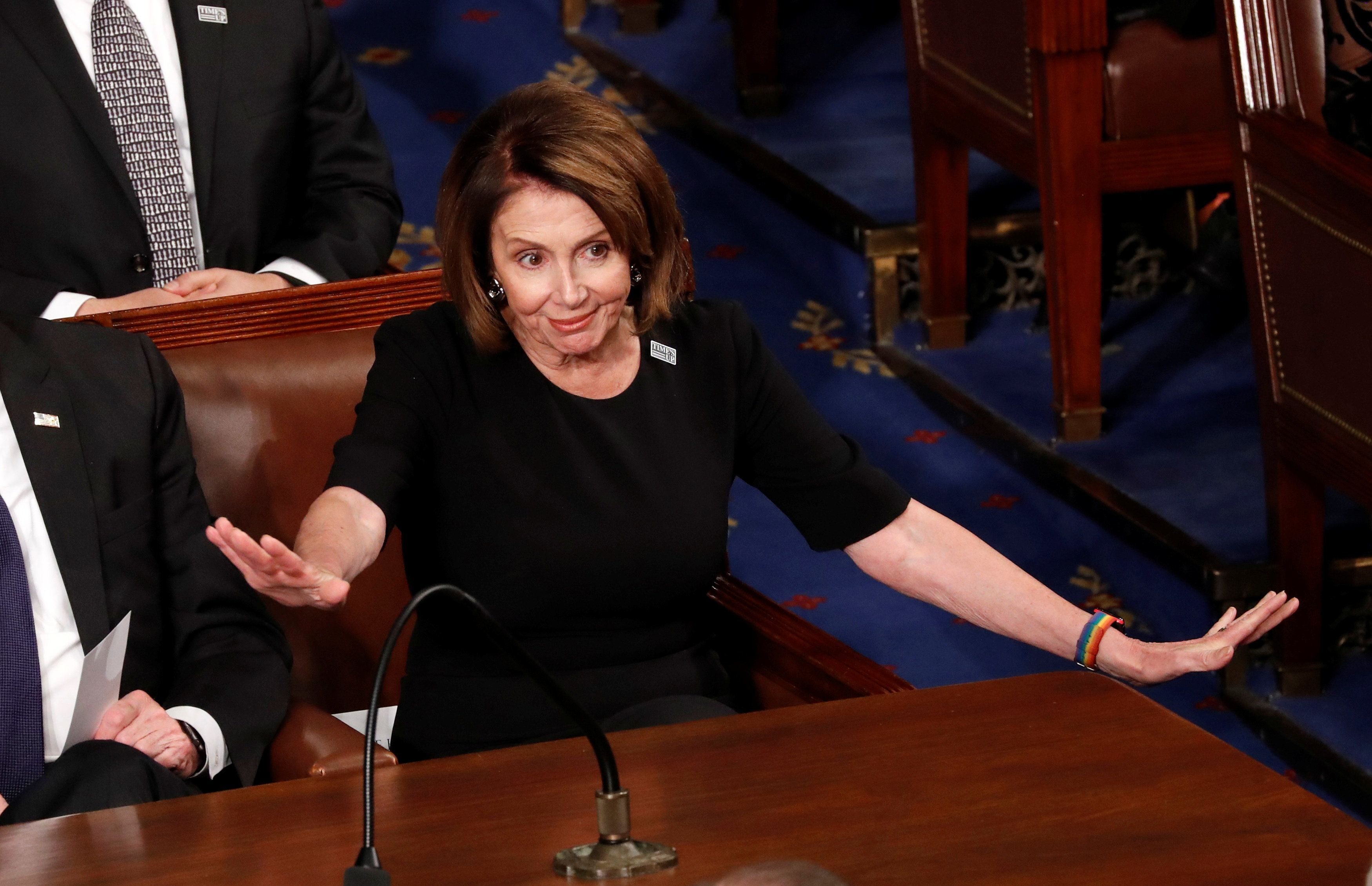 It just doesn't matter that Nancy Pelosi isn't popular in some circles.