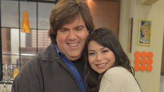 BURBANK, CA - MAY 14:  iCarly's Miranda Cosgrove celebrated her 19th birthday today Monday, May 14 on the set of the hit Nickelodeon series with iCarly creator Dan Schneider at Nickelodeon Studios on May 14, 2012 in Burbank, California. iCarly airs Saturdays at 8 p.m. (ET/PT) on Nickelodeon.  (Photo by Charley Gallay/WireImage)