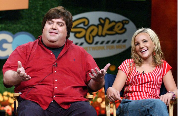 Dan Schneider, creator of Zoey 101, and star Jamie Lynn Spears.