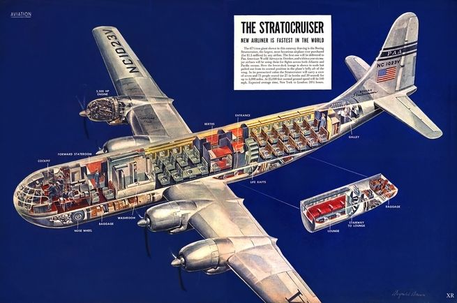 <p>The era of actually enjoyable air travel.</p>