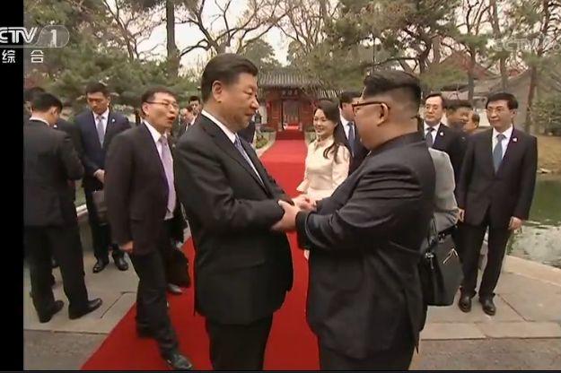 북한이 김정은의 중국방문을 공식