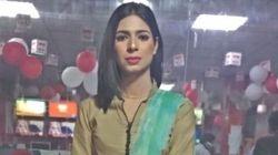 파키스탄에서 최초의 트랜스젠더 뉴스 앵커가