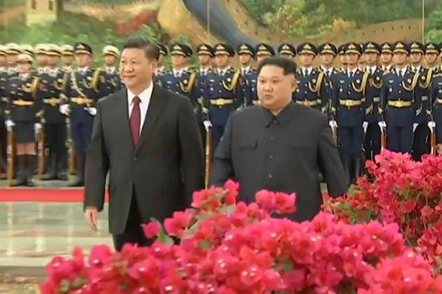 """김정은, 시진핑에 """"비핵화는 김일성·김정일"""