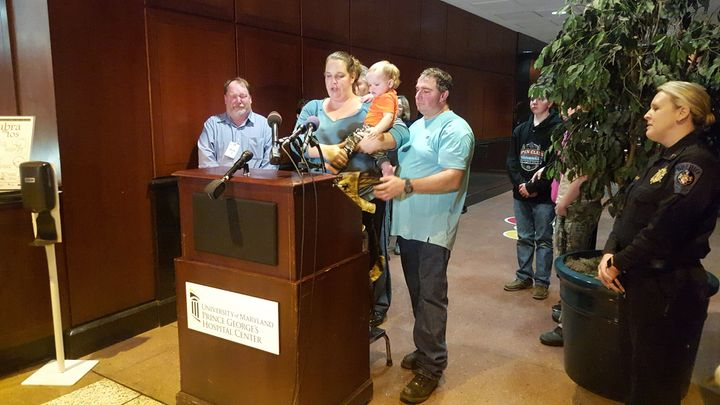 Melissa and Daniel Willey announce plans to take their daughter, Jaelynn, off life support on March 22, 2018, after a fe
