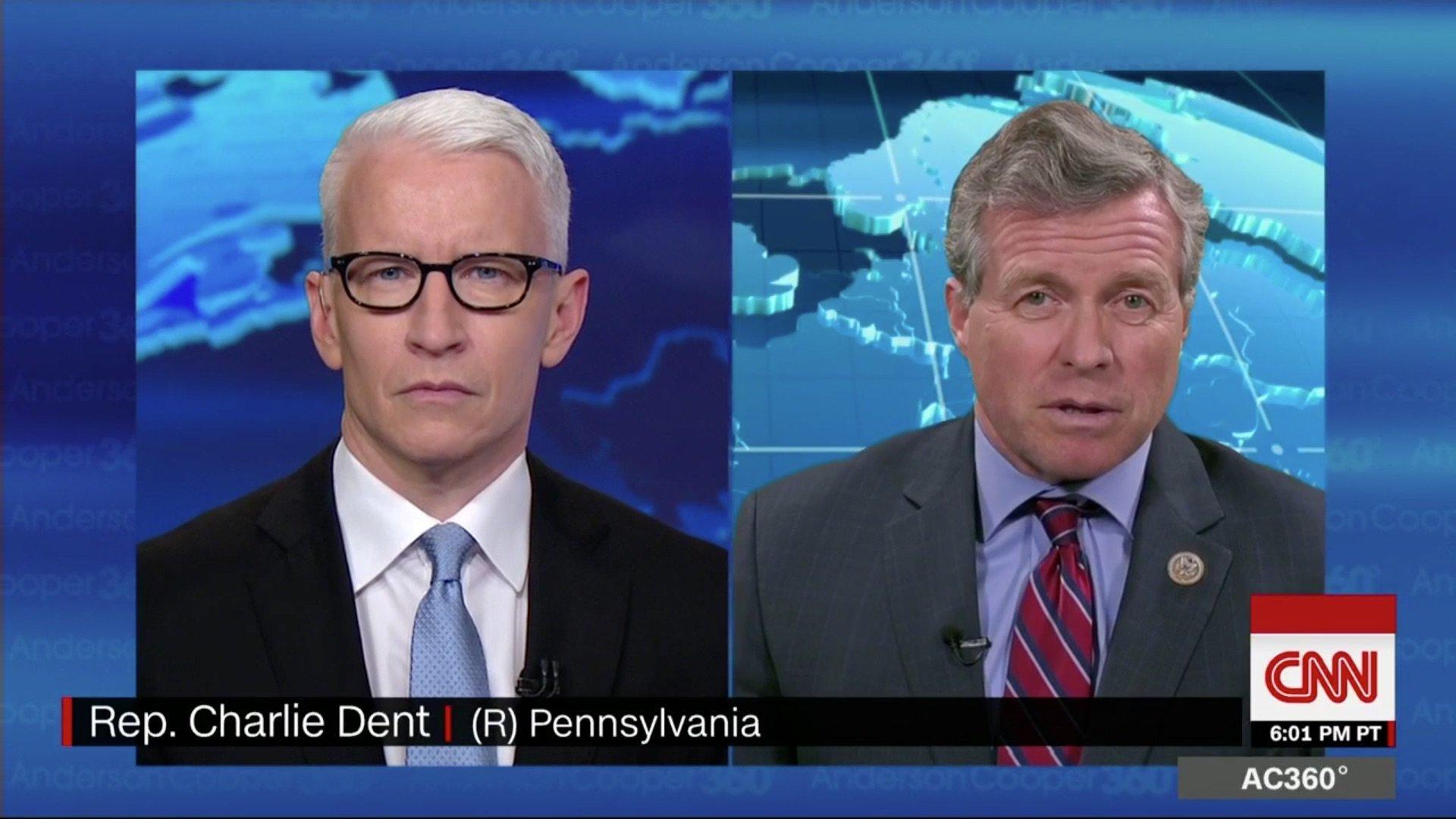 Anderson Cooper Charlie Dent