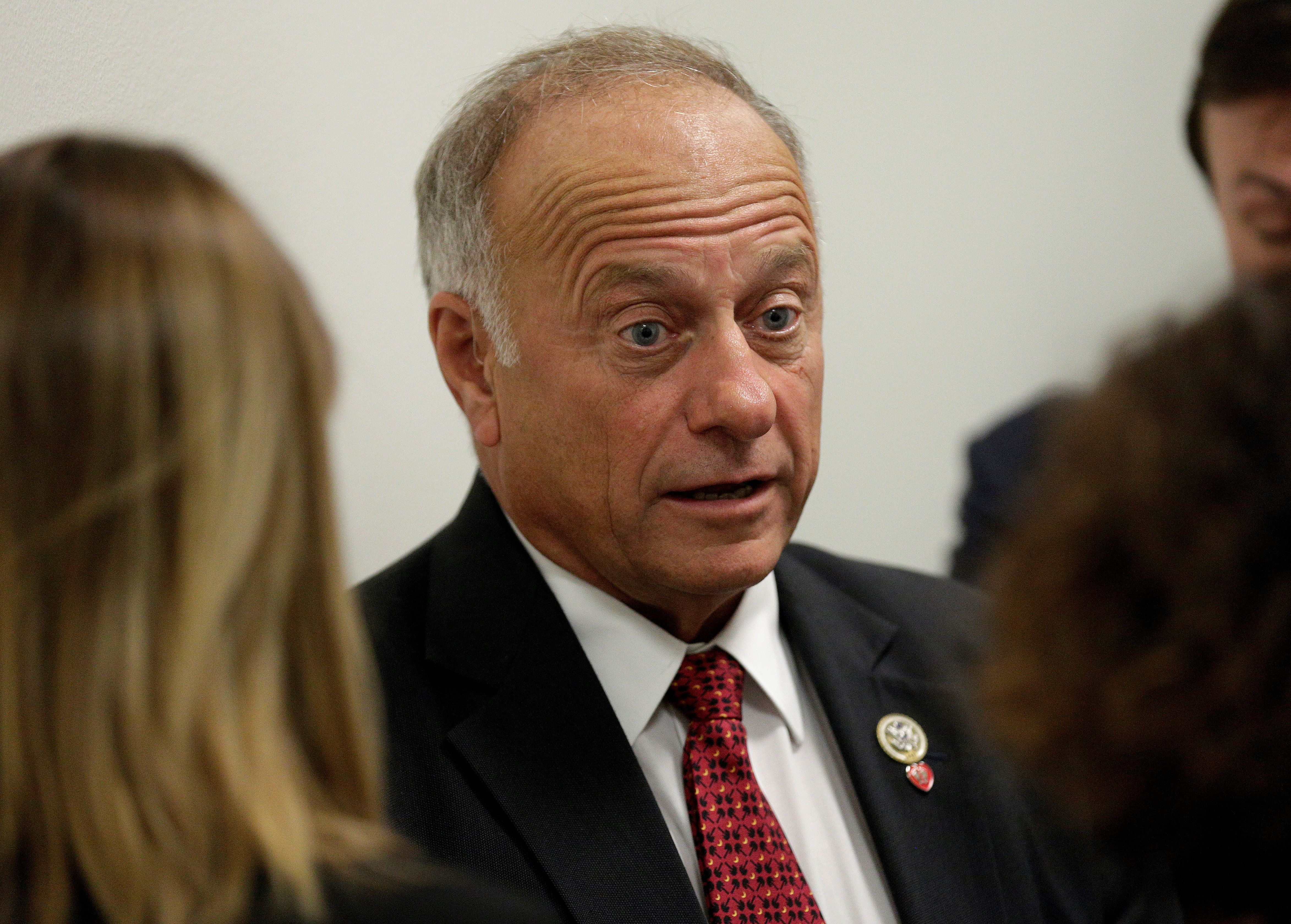 Rep. Steve King (R-IA) speaks to reporters about DACA and immigration legislation on Capitol Hill in Washington, U.S., September 6, 2017. REUTERS/Joshua Roberts
