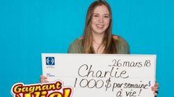 18χρονη στον Καναδά κέρδισε το υπέρτατο δώρο γενεθλίων: 1.000 δολάρια κάθε εβδομάδα για το υπόλοιπο της ζωής