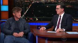Ο Sean Penn στην πιο καταθλιπτική εμφάνισή σε τηλεοπτική εκπομπή, καπνίζοντας και υπό την επήρεια