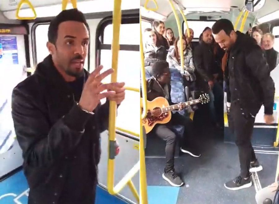 Craig David Surprises Bus Passengers With Impromptu