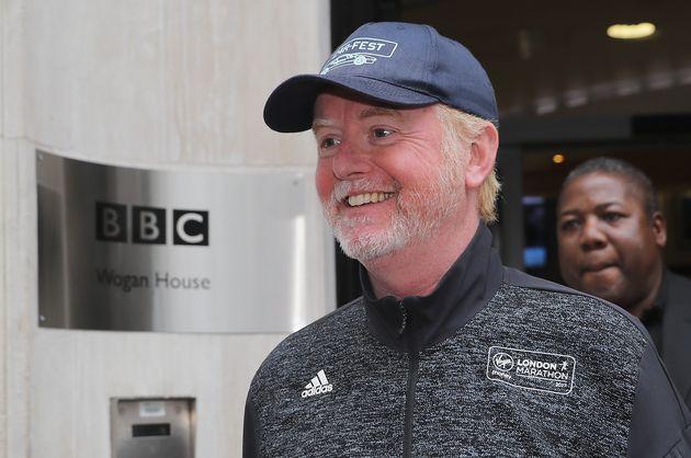 Chris Evans fronts Radio 2's breakfast