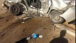 5 morts dans un accident de la route à