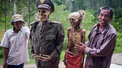 Indonesier holen ihre Toten alle drei Jahren wieder aus den Gräbern – das steckt hinter dem